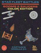 Star Fleet Battles: Module D3 Booms & Saucers (Color)