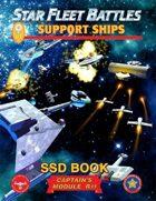 Star Fleet Battles: Module R11 - Support Ships SSD Book (B&W)