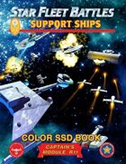 Star Fleet Battles: Module R11 - Support Ships SSD Book (Color)
