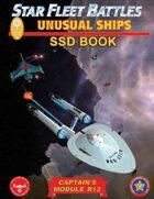 Star Fleet Battles: Module R12 - Unusual Ships SSD Book (B&W)