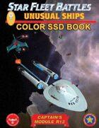 Star Fleet Battles: Module R12 - Unusual Ships SSD Book (Color)