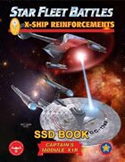 Star Fleet Battles: Module X1R - X-Ship Reinforcements SSD Book (B&W)