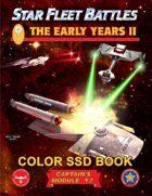 Star Fleet Battles: Module Y2 - The Early Years II SSD Book (Color)