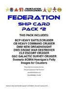 Federation Commander: Federation Ship Card Pack #2