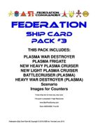 Federation Commander: Federation Ship Card Pack #3