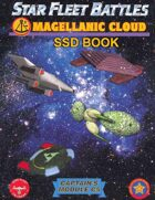 Star Fleet Battles: Module C5 – The Magellanic Cloud SSD Book (B&W)