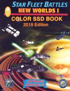 Star Fleet Battles: Module C1 - New Worlds I SSD Book (Color) 2015