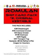 Federation Commander: Romulan Ship Card Pack #2