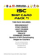 Federation Commander: ISC Ship Card Pack #1