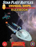 Star Fleet Battles: Module R12 - Unusual Ships Rulebook