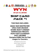 Federation Commander: WYN Ship Card Pack #1