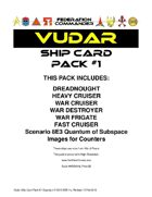 Federation Commander: Vudar Ship Card Pack #1