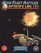 Captain's Log #21