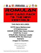 Federation Commander: Romulan Ship Card Pack #3