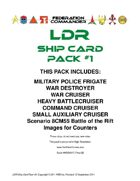Federation Commander: LDR Ship Card Pack #1