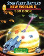 Star Fleet Battles: Module C2 - New Worlds II SSD Book (B&W) 2016
