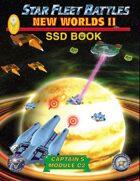 Star Fleet Battles: Module C2 - New Worlds II SSD Book (B&W) 2016
