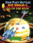 Star Fleet Battles: Module C2 - New Worlds II SSD Book (Color) 2016