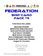 Federation Commander: Federation Ship Card Pack #4