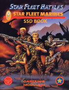 Star Fleet Battles: Module M - Star Fleet Marines SSD Book (B&W)