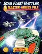 Star Fleet Battles: Module G3 - Master Annex File