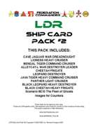 Federation Commander: LDR Ship Card Pack #2