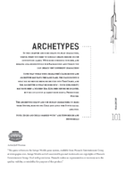 TimeZero Archetypes