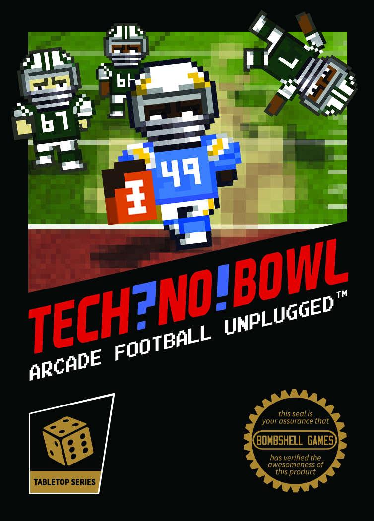 TECH?NO! BOWL: Pixel Block Players