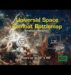 Universal Space Combat Battlemap - Tarantula Nebula