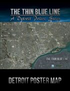 The Thin Blue Line Game World Map