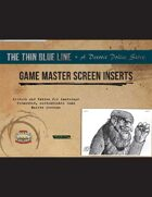 The Thin Blue Line Game Master Screen Inserts