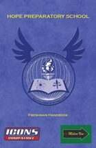 Hope Prep School Freshman Handbook (ICONS)