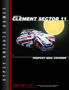 Ships of Clement Sector 11: Fedpost Mail Courier