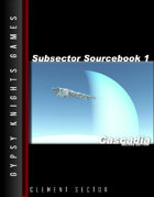 Subsector Sourcebook 1: Cascadia 2nd Edition