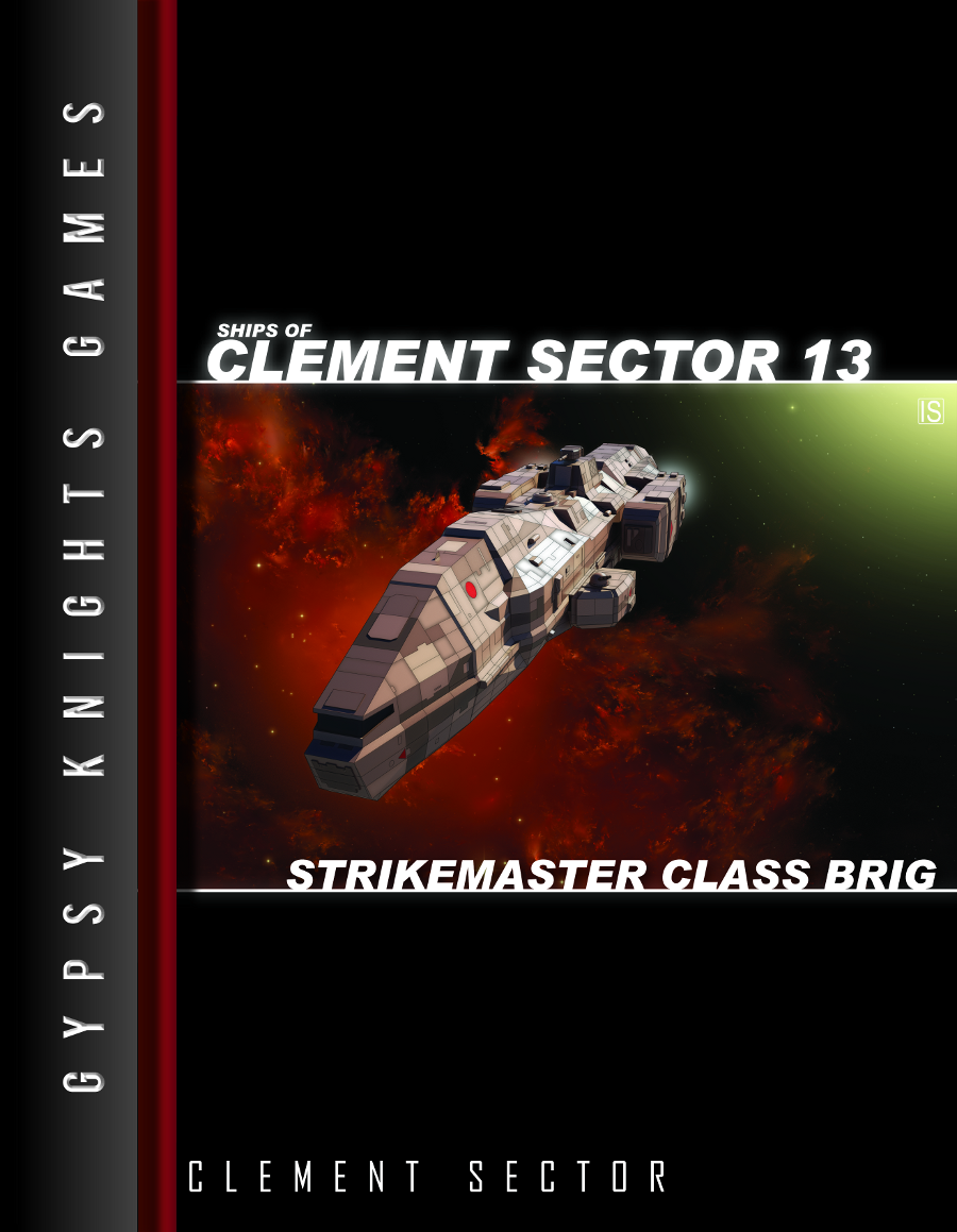 Ships of Clement Sector 13: Strikemaster Class Brig (OGL)