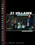 21 Villains 2nd Edition