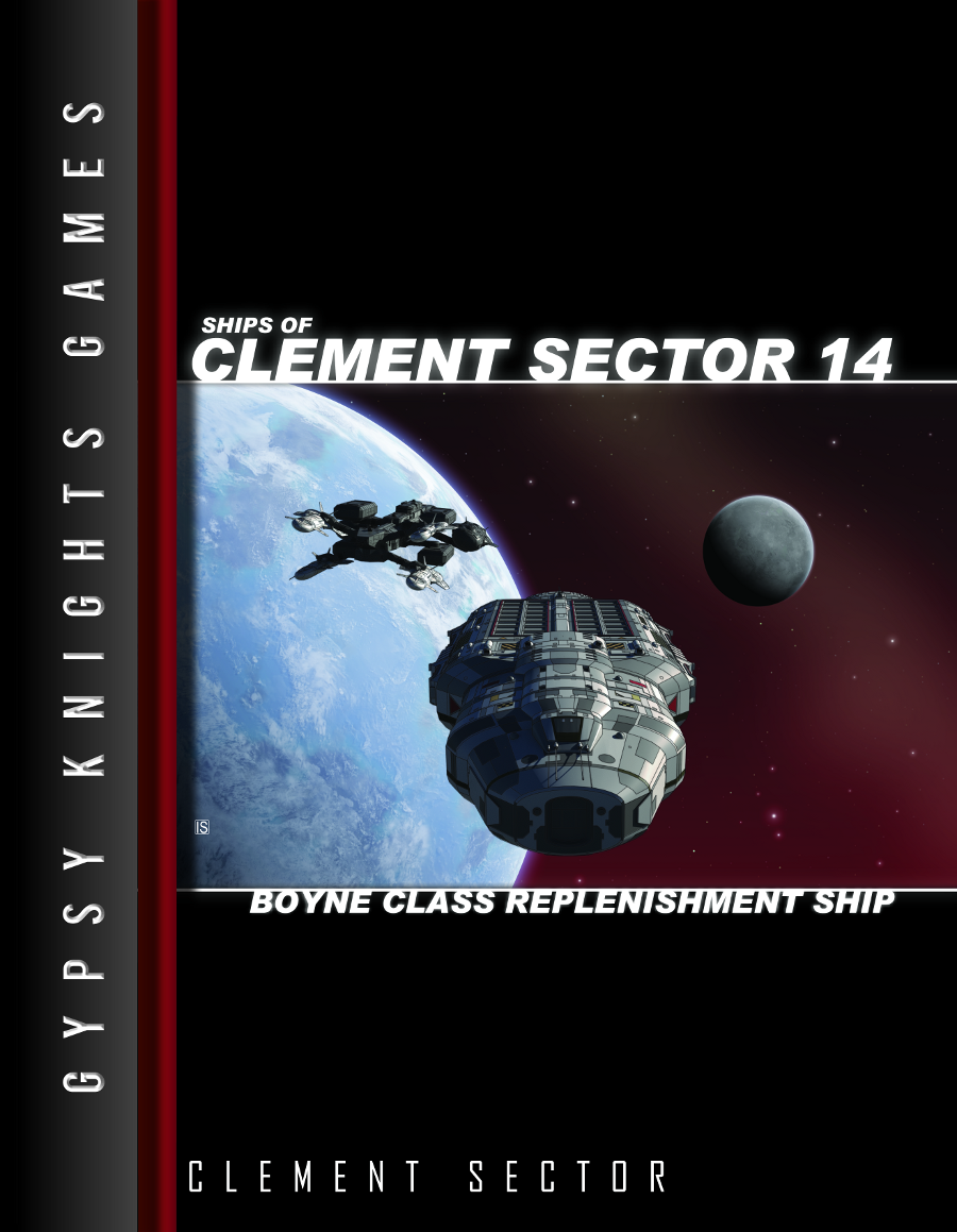 Ships of Clement Sector 14: Boyne-class Replenishment Ship (OGL)