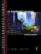 21 Starport Places 2nd Edition