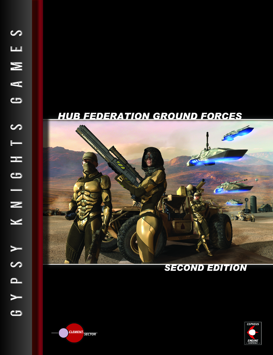 Hub Federation Ground Forces 2nd Edition