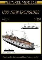 1/200 USS New Ironsides Waterline Paper Model