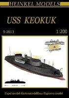1/200 USS Keokuk Paper Model