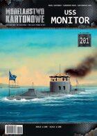 1/200 USS Monitor Paper Model