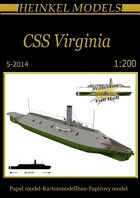 1/200 CSS Virginia Paper Model