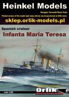 1/200 Spanish Armored Cruiser - Infanta Maria Teresa
