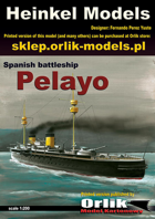 1/200 Armored Cruiser Infanta Maria Teresa papermodel