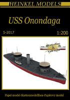 1/200 USS Onondaga Paper Model