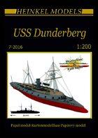 1/200 USS Dunderberg - Ironclad - Paper Model