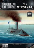 1/200 CSS Virginia Paper Model publisher Pro-arte