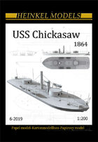 1/200 USS Chicasaw 1864 - Paper Model