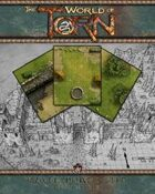 Raven Downs Keep Map Tile Set: A Torn World Gaming Accessory